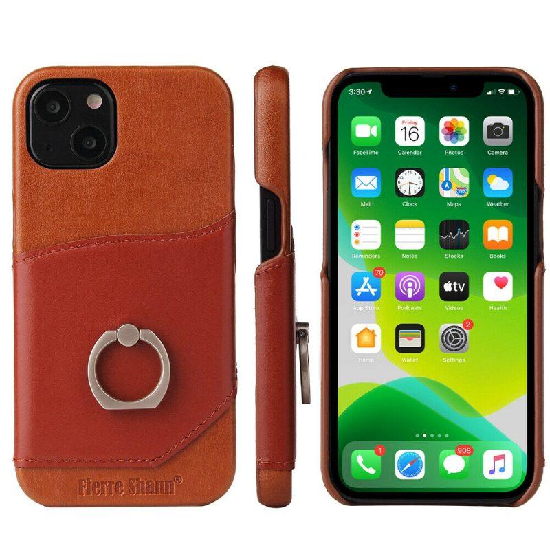 Genuine leather iphone 13 Case