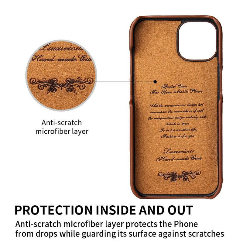 real leather iphone 13 pro max case